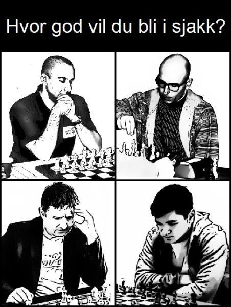 Hvor god vil du bli i sjakk?