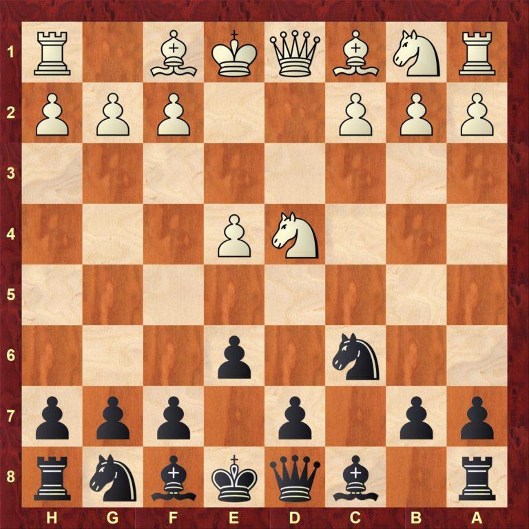 Nyinnspilling av første del med Siciliansk Taimanov!