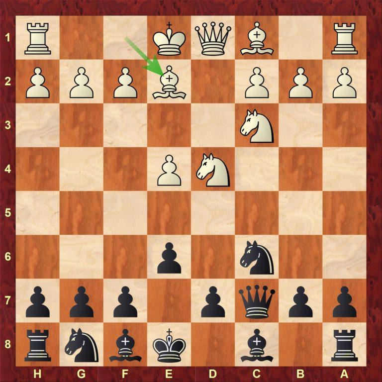 Del 2 av Siciliansk Taimanov med 6. Le2