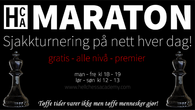 HCA Maraton 6 kl 18.00!