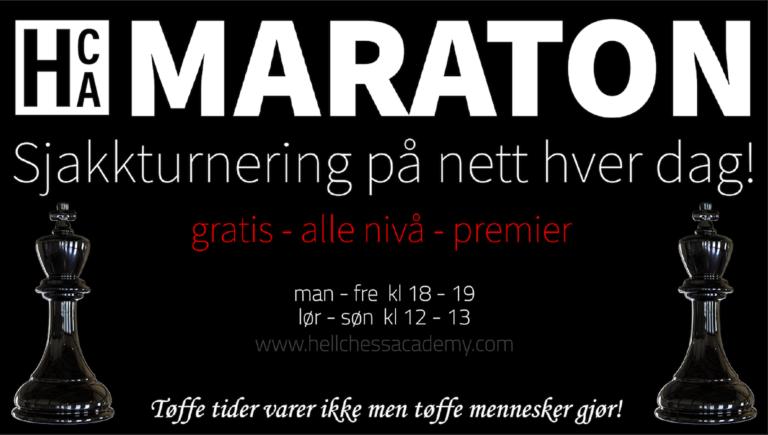 Forrige ukes (14) høydepunkt fra HCA Maraton 2020