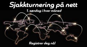 Nettsjakk - sjakkturnering på nett første søndag i hver måned