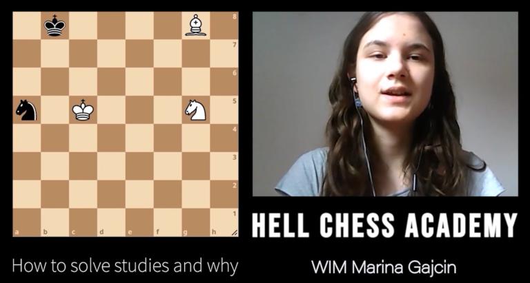 «En del av min personlige sjakktrening»