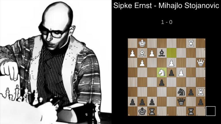 Sipke Ernst – Mihajlo Stojanovic 1 – 0