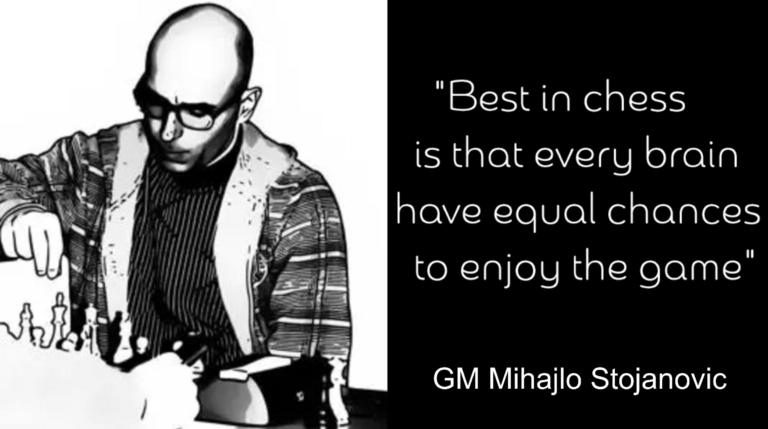 Analyser og kommentarer av GM Mihajlo Stojanovic
