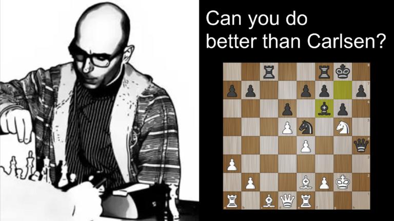 Kan du gjøre det bedre enn Carlsen?