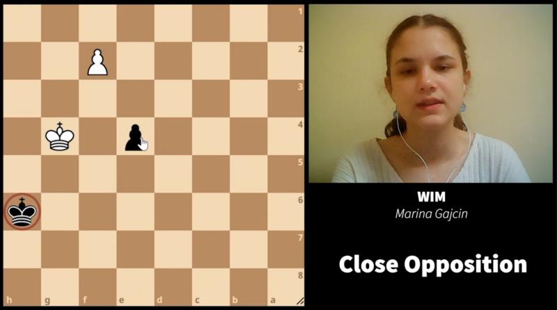 Pawn endgames - opposition
