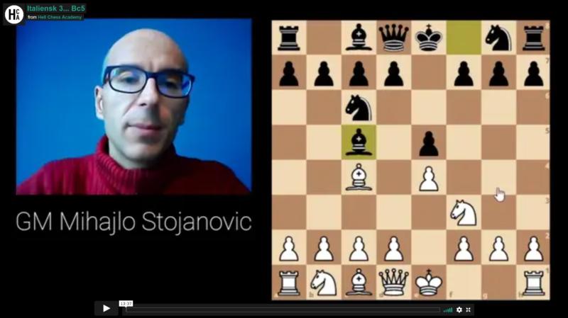 Italian for white 3… Bc5