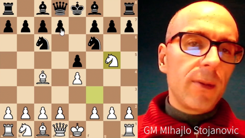 Italiensk for hvit etter 3… Nf6 del 1