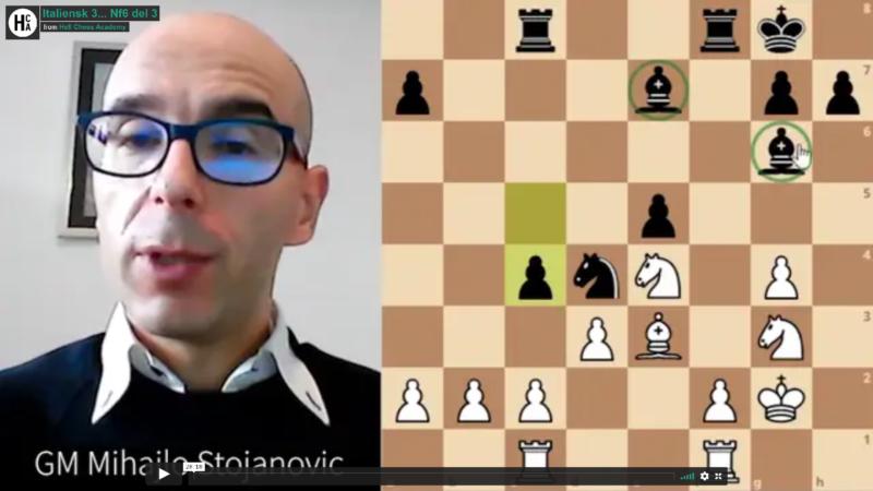 Jorden van Forest - Magnus Carlsen - Italian for white part 7