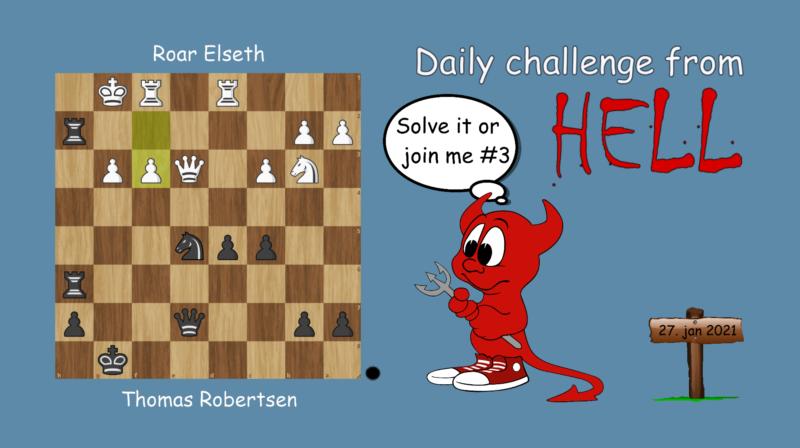 Dagens hjernetrim - sjakknøtt 10