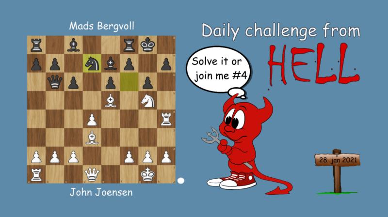 Dagens hjernetrim - sjakknøtt 11