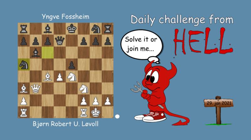 Dagens hjernetrim - sjakknøtt 12