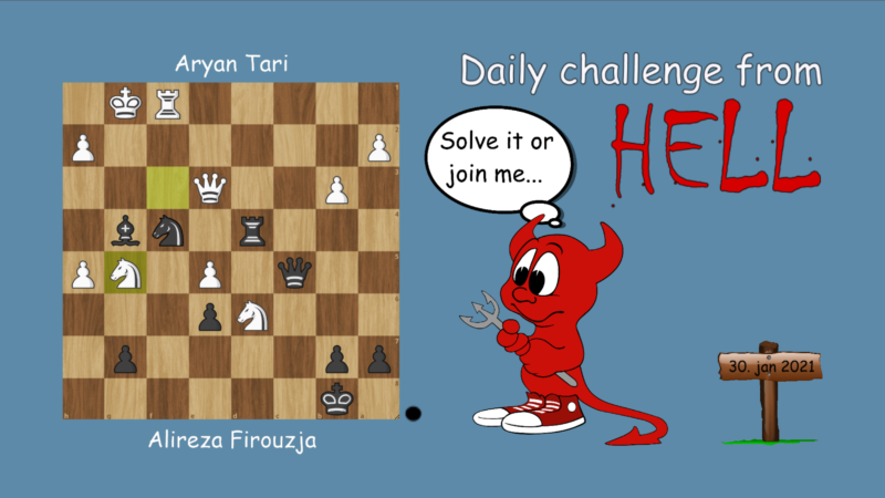 Dagens hjernetrim - sjakknøtt 13