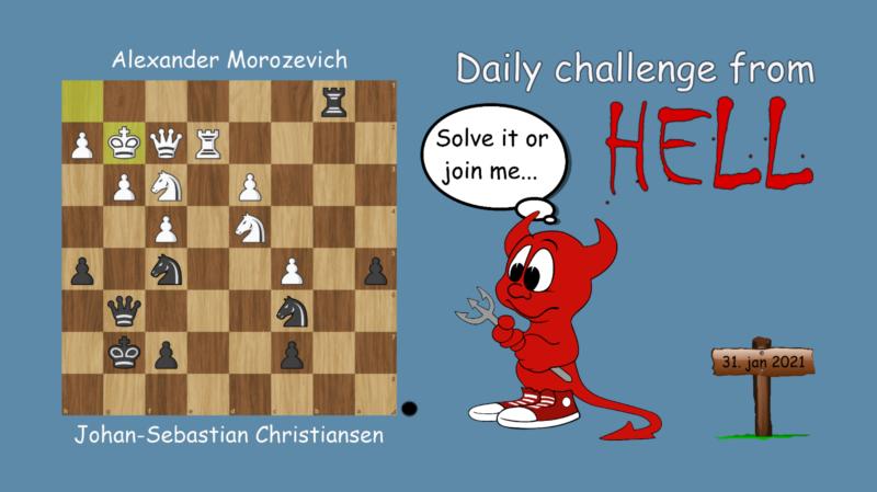 Dagens hjernetrim - sjakknøtt 14