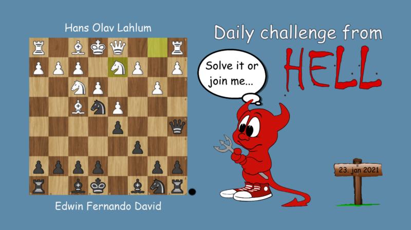 Dagens hjernetrim - sjakknøtt 6