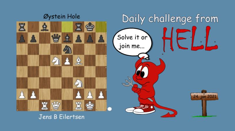 Dagens hjernetrim - sjakknøtt 7