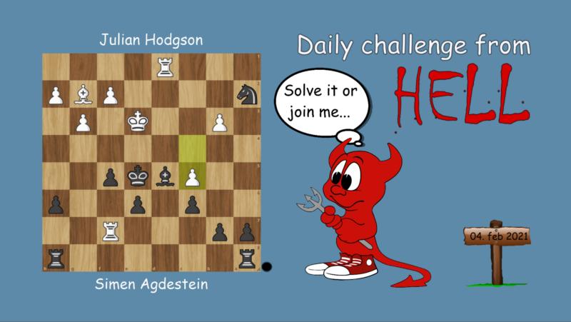 Dagens hjernetrim - sjakknøtt 18