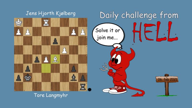 Dagens hjernetrim - sjakknøtt 20