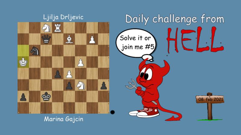 Dagens hjernetrim - sjakknøtt 22