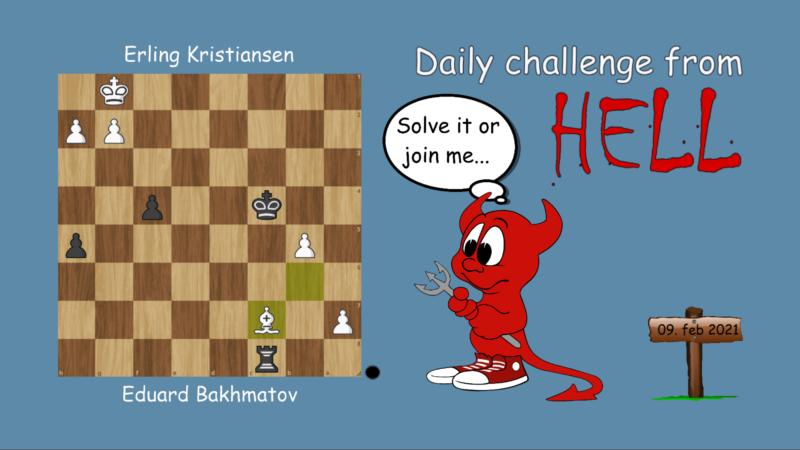 Dagens hjernetrim - sjakknøtt 23