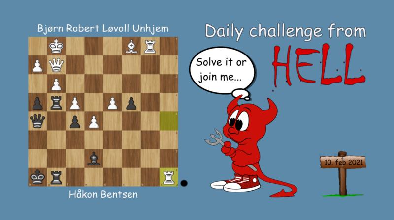 Dagens hjernetrim - sjakknøtt 24