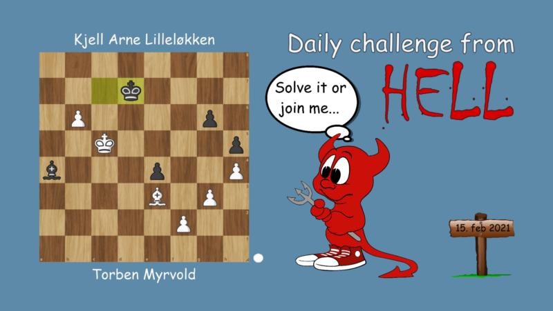 Dagens hjernetrim - sjakknøtt 29