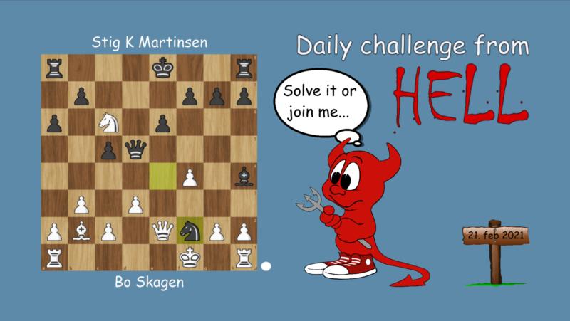 Dagens hjernetrim - sjakknøtt 35