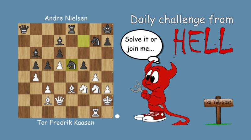 Dagens hjernetrim - sjakknøtt 36