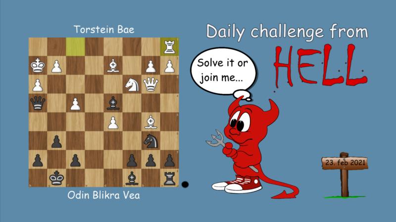 Dagens hjernetrim - sjakknøtt 37