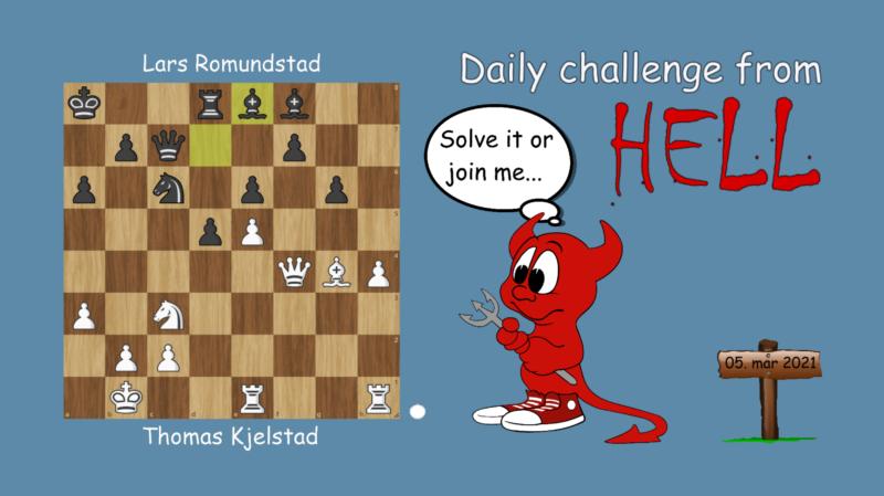 Dagens hjernetrim - sjakknøtt 47