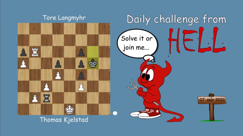 Dagens hjernetrim - sjakknøtt 49