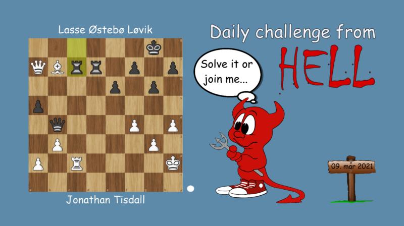Dagens hjernetrim - sjakknøtt 51