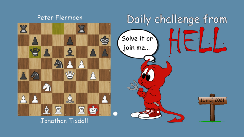 Dagens hjernetrim - sjakknøtt 53