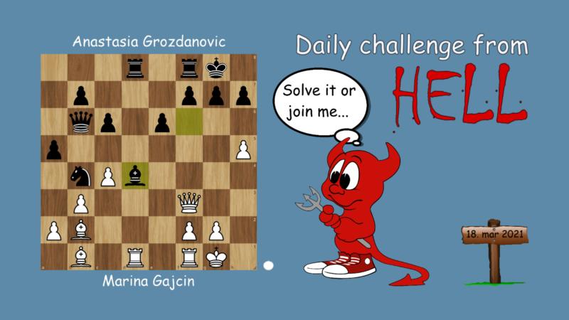 Dagens hjernetrim - sjakknøtt 55