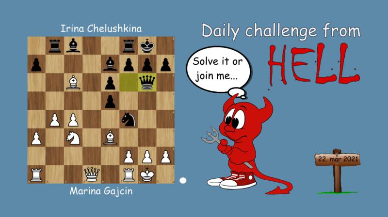 Dagens hjernetrim - sjakknøtt 56