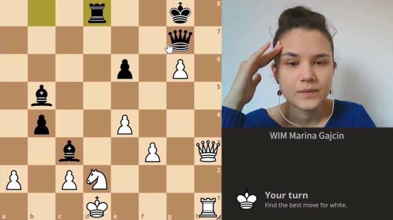 It`s puzzle time 1 – WIM Marina Gajcin