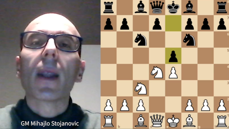 Hvit mot Secilian Sveshnikov