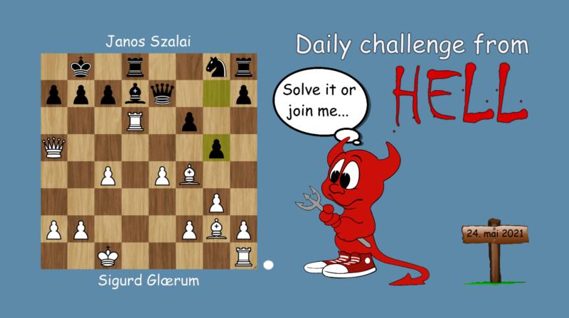 Dagens hjernetrim - sjakknøtt 59