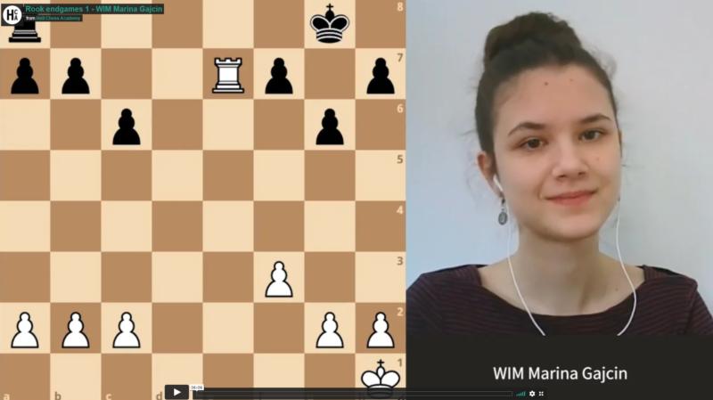 Tårnsluttspill 1 med WIM Marina Gajcin