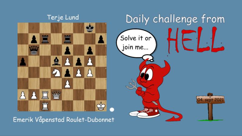 Dagens hjernetrim sjakknøtt 60
