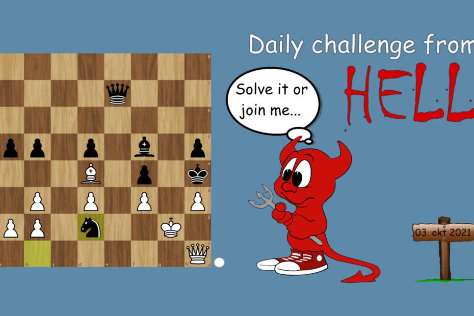 Dagens hjernetrim sjakknøtt 61