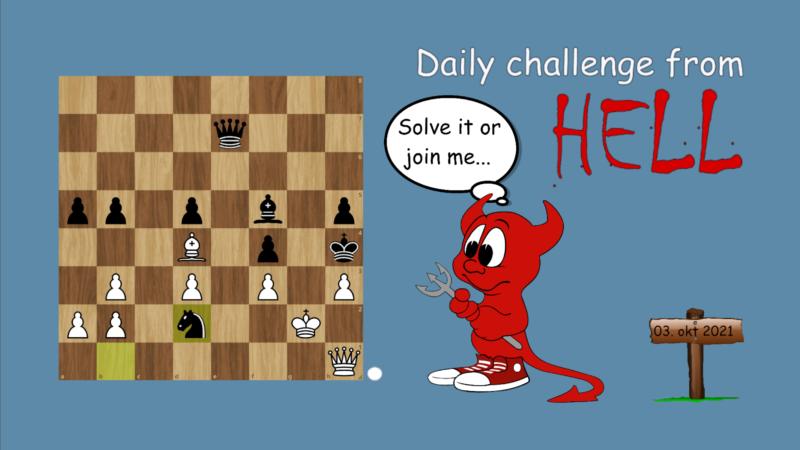 Dagens hjernetrim - sjakknøtt 61